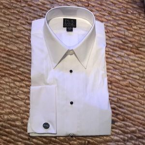 Jos A Bank tux shirt